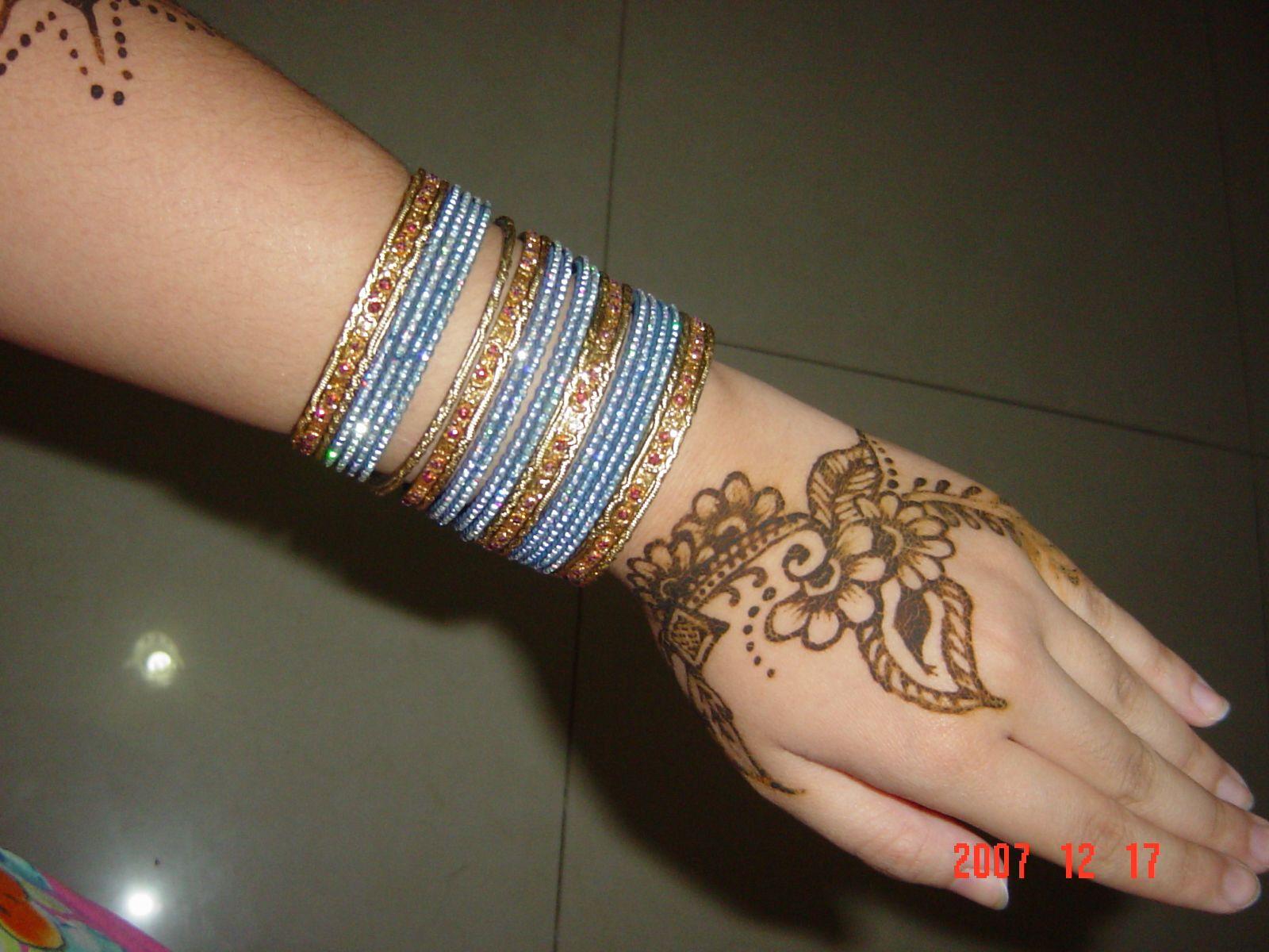 Indian tattoo designs often